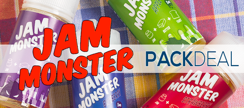 Jam Monster by Jam Monster Liquids Premium Vape Juice eJuice Direct