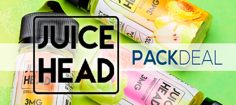 Juice Head E-Liquid Pack Deal Premium Vape Juice | eJuice Direct
