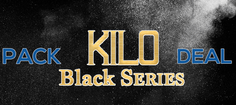 Kilo Black Series 4 Pack Deal Premium Vape Juice eJuice Direct