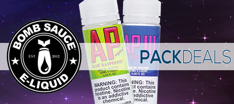 Bomb Sauce eJuice Pack Deals | Bundle Your Vapes
