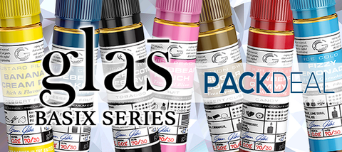 Basix by Glas Bakers Pack Deals E-Liquid | Vape Bundle