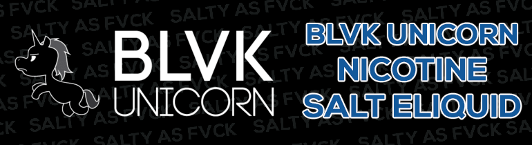 BLVK Unicorn Nicotine Salt eLiquid Premium Vape Juice eJuice Direct