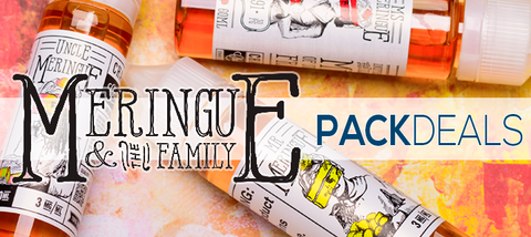 Meringue and The Family Pack Deals Premium Vape Juice eJuice Direct