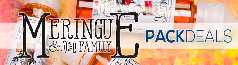 Meringue and The Family Pack Deals Premium Vape Juice | eJuice Direct