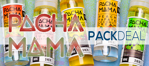 Pachamama by Charlies Chalk Dust Pack Deals Premium Vape Juice eJuice Direct