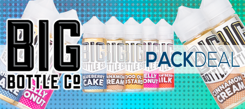 Big Bottle Co. Pack Deals Premium E-Liquid | Big Vape Bundles