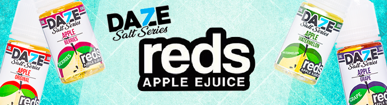7 Daze MFG Reds Apple Salt Series | Nic Salt Fruit Combo Vapes