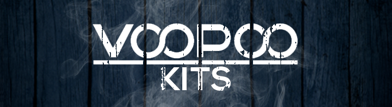 VooPoo Vaping Starter Kits | Complete Kit | Box Mod and Tank