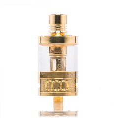 Tobeco 25mm Super Tank Royal Gold Edition Sub-Ohm Tank Ejuice Direct