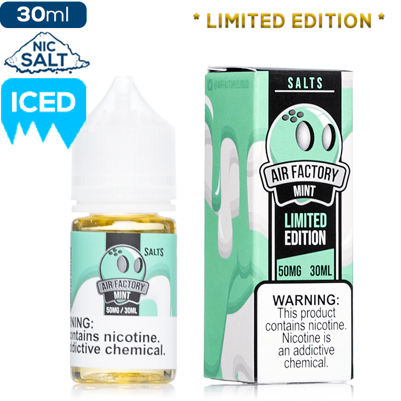 Air Factory Salt - Mint Limited Edition Flavor