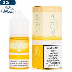 Aqua Cream Salt - Lush Nic Salt eJuice Aqua-Cream
