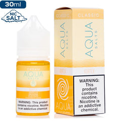 Aqua Cream Salt - Vortex Nic Salt eJuice Aqua-Cream