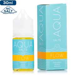 Aqua Salts Flow by Marina Vape Nic Salt Vape Juice | Tropical