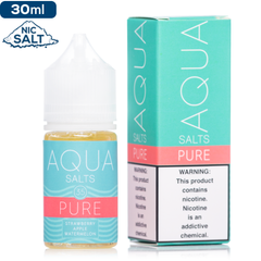 Aqua Salts Pure by Marina Vape Nic Salt Vape Juice | eJuice Direct