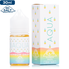 Aqua Salts Rainbow Drops Premium Nicotine Salt eLiquid eJuice Direct