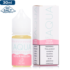 Aqua Salts Sour Melon Premium Nicotine Salt eLiquid eJuice Direct