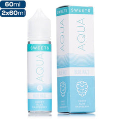 Aqua Sweets Blue Razz Premium Vape Juice eJuice Direct