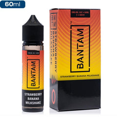 BANTAM - Strawberry Banana Milkshake eJuice BANTAM