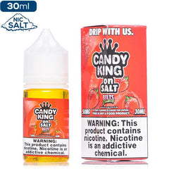Candy King on Salt - Belts Strawberry Nic Salt eJuice Candy King