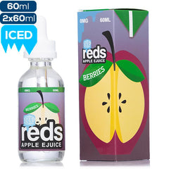 Reds Apple eJuice - Berries Iced - buy-ejuice-direct