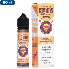 Coastal Clouds Sweets - Blood Orange Mango Snow Cone - buy-ejuice-direct