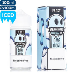 Air Factory Frost Blue Razz Ice Premium Vape Juice eJuice Direct