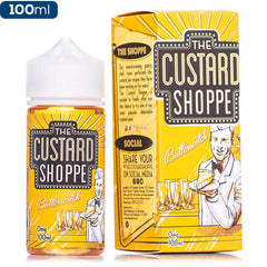 The Custard Shoppe - Butterscotch - buy-ejuice-direct