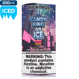 Candy King on Ice - Pink Squares eJuice Candy King-Ice