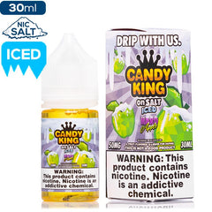 Candy King on Salt Iced - Hard Apple Nic Salt eJuice Candy King-On Salt Iced