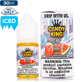 Candy King on Salt Iced - Strawberry Watermelon Bubblegum Nic Salt eJuice Candy King-On Salt Iced