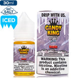 Candy King On Salt Iced - Worms Nic Salt eJuice Candy King-On Salt Iced