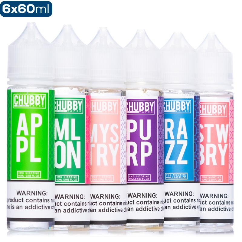 Chubby Bubble 6-Pack - buy-ejuice-direct