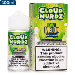 Cloud Nurdz Kiwi Melon Premium Vape Juice eJuice Direct