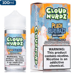 Cloud Nurdz - Peach Blue Razz - buy-ejuice-direct