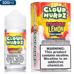 Cloud Nurdz - Strawberry Lemon - buy-ejuice-direct