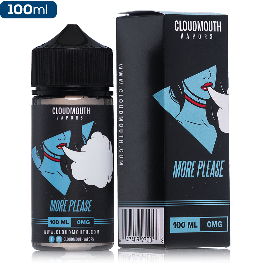 Cloudmouth by Propaganda More Please E-Liquid | 100ml $18.99