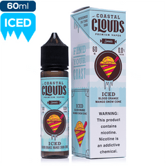 Coastal Clouds Sweets - Blood Orange Mango Snow Cone Iced eJuice Coastal Clouds-Sweets