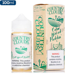 Country Clouds 100ML - Corn Bread Puddin' Replacement eJuice Country Clouds
