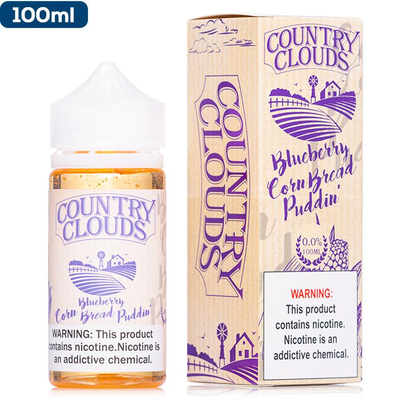 Country Clouds - Blueberry Corn Bread Puddin' eJuice Country Clouds