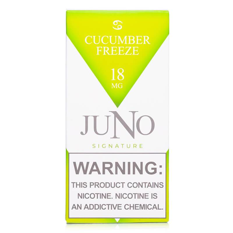 Juno - Cucumber Freeze Pods - buy-ejuice-direct