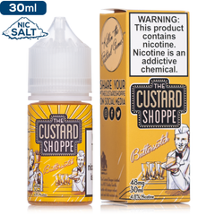 The Custard Shoppe Salt - Butterscotch - buy-ejuice-direct