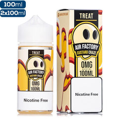 Air Factory Treat Custard Craze Premium Vape Juice eJuice Direct