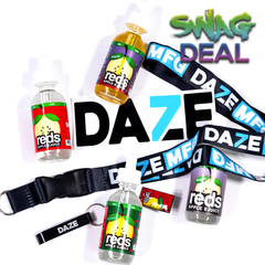 Reds Apple by 7 Daze E-Liquid 4-Pack Swag Deal ejuice 7Daze