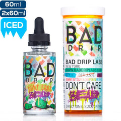 Bad Drip Labs Don't Care Bear Iced Out Premium Vape Juice eJuice Direct