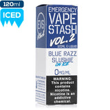 EVS Volume 2 - Blue Razz Slushie on Ice eJuice EmergencyVapeStash-Vol2