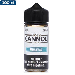 Holy Cannoli French Toast Premium Vape Juice eJuice Direct