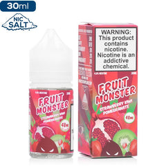 Fruit Monster Salt - Strawberry Kiwi Pomegranate Nic Salt eJuice Jam Monster-Fruit Monster