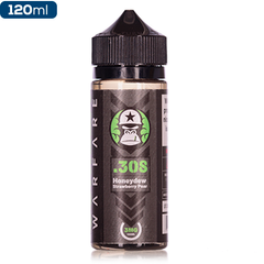 Gorilla Warfare eLiquid .308 Honeydew Strawberry Pear Premium Vape Juice eJuice Direct