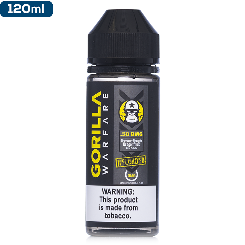 Gorilla Warfare - .50 BMG Reloaded - buy-ejuice-direct