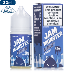 Jam Moster Salt by Jam Monster Blueberry | Nic Salt eJuice